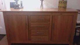 Lovely Oak Storage Unit/Sideboard