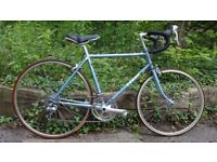 2 year old vintage women's bike. Only used at summertime, so in a very good condition.