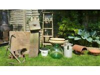 Garden Clearance Vintage Industrial