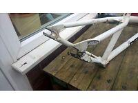 identiti p66 dirt jump bike frame