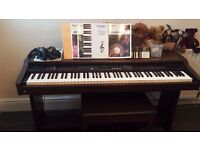 TECHNICS DIGITAL PIANO 88 WEIGHTED NOTE .
