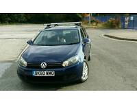 Vw golf estate 1.6 tdi blue motion 20 year road tax
