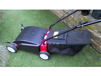 Dolmar (Makita) - powerful electric lawn scarifier / slitter / aerator - VE3013