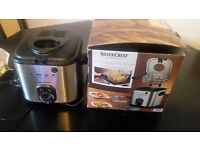 Mini Deep Fat fryer (Silver crest brand )
