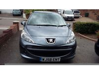 Peugeot 207, Very Low Mileage 26k!!. Excellent Condition, Full Service History, Owner for over 7yrs