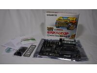 (new) Motherboard : Gigabyte 970A-UD3P