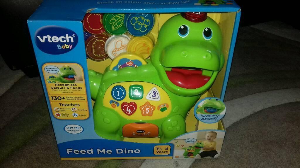 V-tech 'Feed me Dino'