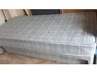 As new single 3ft bed with matching under trundler to make double