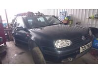 vw golf 1.6 breaking for parts