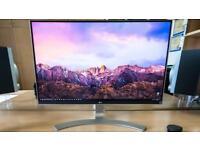 LG 27UD88-W 4k 27 inch USB C Monitor