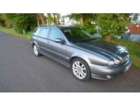 AMAZING JAGUAR DIESEL SPORT ESTATE, COVERED THE EARTH TO THE MOON MILES AND STILL GOING STRONG
