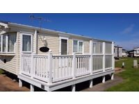 Caravan for hire. Blue Anchor. Set in the tranquil location of Blue Anchor bay.