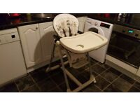 Mamas and Papas Prima pappa high chair in very good condition.