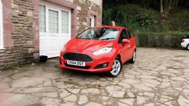 Ford Fiesta Zetec 1.2 2014 31k * long mot * 2 previous owner *excellent condition * £30 tax