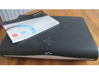 SKY+HD BOX 250 gb MEMORY. COMPLETE WITH MANUAL. BLACK