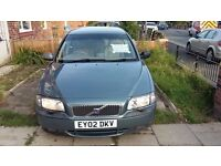 Volvo S80 Cream leather seats,navi,cruise control 2.4 D5 Diesel Quick sale MAY SWAP FOR VAN