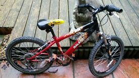 Hot rod raleigh bike 16' wheels
