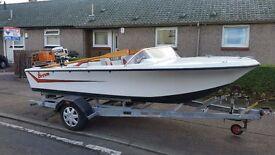 Broom Motor Boat for sale