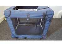 Fabric small dog/puppy crate