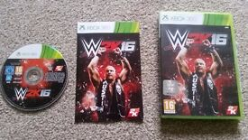 Xbox 360 games W2K16