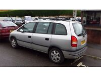 1.8 Vauxhall Zafira Elegance - Spares or Repair (Runs but power loss)