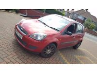 2007 Ford Fiesta Style 1.2, only 2 previous owners, alloy wheel, No clio zetec CHEAPEST!