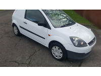 FORD FIESTA DIESEL VAN 2008. 137000 MILES. MOT UNTIL MAY
