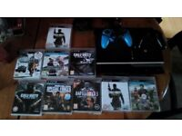 Ps3 with games + 2 controllers