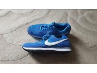 Nike trainers mens blue size 8