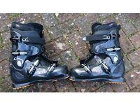 Ski Boots - Cockpit - Soft - Size 9.5. Rebound Fit.