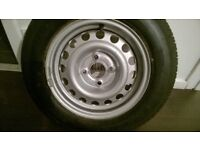 BRAND NEW CARAVAN SPARE WHEEL (COST NEARLY £200)