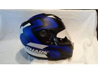 Full Face Helmet. Shark. Used only twice. Perfect condition.
