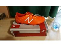 New balance football boots (size 7-7.5)