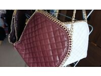Brand new quilted chain handbags 3 colours