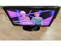 "32"" SHARP LCD TV,HDMI,SCART,OPTICAL,BUILD IN FREEVIEW,FULLY WORKING CONDITION COMES REMOTE"