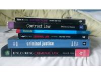 Criminal law textbook with 2 contract included for free