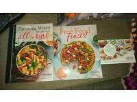 3 slimming world cookbooks all brand-new