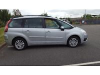 citroen c4 grand picasso 1.6 vtr+egs deisel ,2009 12 months mot, immaculate condition 1 owner