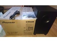 Pioneer subwoofer s21w