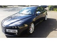 Alfa Romeo 159 Ti JTS very low mileage 38,000 miles and full service history stunning car