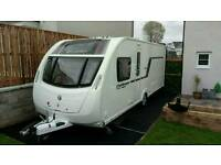 Swift Challenger Sport 584, 2014, Cruach Edition, Island bed layout