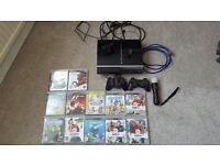 Playstation 3 games console, 12 games plus extras