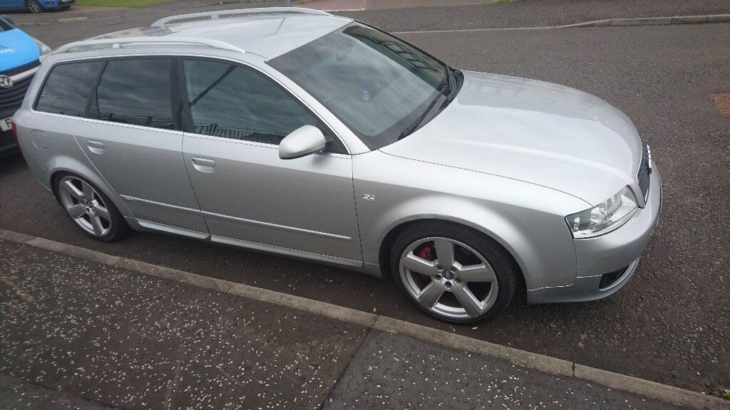 audi a4 b6 avant 1 8t s line 190 silver in drumchapel. Black Bedroom Furniture Sets. Home Design Ideas