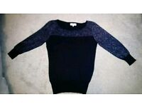 Next Sparkle Jumper Size 10