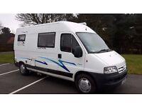 3 berth Campervan / motorhome - 4 Travelling seats, Full height Spacious Professional Conversion