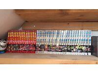 Manga collection (dragonball and Naruto) for sale