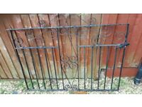 Iron Gates for driveway (pair) - used