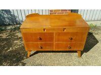 Vintage Herbert Gibbs Six Drawer Dresser