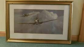 Gerald Coulson framed print 'Troubleshooters'