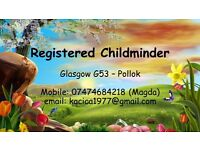 Registered Childminder (opiekunka) G53